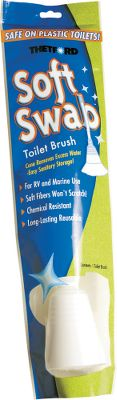 Motorsports Safe on plastic yet tough on stains. This durable and reusable brush makes cleaning portable and camper toilets easy. - $4.99