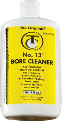 Hunting Number 13 makes cleanup quick and easy, so you'll never dread that end-of-the-hunt conditioning. This all-natural bore cleaner contains no petroleum-based additives. Quickly removes residue and fouling without damaging the bore's seasoning. Completely non-toxic. Size: 8 oz. Type: Cleaning Accessory. - $7.99