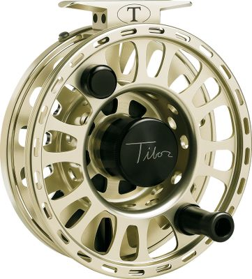 Flyfishing More world records have been set using Tibor reels than any other fly reel. Leverage fish-taming potential to your benefit with the Signature series - Tibors finest reels to date. The efficient design consists of few parts. A ventilated spool and frame keep weight to a minimum, while maintaining structural integrity. QuickChange spool system involves a single moving part for unmatched reliability. The waterproof sealed drag system is among the smoothest and strongest in the industry. The drag constantly applies seal pressure while in free-spool, eliminating overrun while stripping line. Lubricated micrograin cork delivers legendary silky-smooth performance. Mechanical clutch system allows easy conversion from left- to right-hand retrieve. Each reel is individually serialized for identification and signed by master reel designer Ted Tibor Juracsik. Includes thick neoprene case for protection during storage and transport. Manufacturers limited lifetime warranty. Made in USA. Color: Gold. Type: Saltwater Fly Reels. - $775.00
