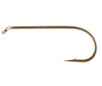 Flyfishing A classic dry-fly hook with a 1X-long shank. Standard wire construction, down eye and chemically sharpened hook. Per 50.Sizes: 8, 10, 12, 14, 16, 18, 20, 22, 24. Type: Hooks. Size Hooks U001 (50pk) 08. - $3.88