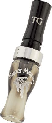 Hunting The Acrylic Super Mag Goose Call has been a winner in world, state and regional contests since it has been on the market. It is flawlessly consistent and produces everything from sweet lows to the sharpest high crack. If you want geese on the ground, you need this tried-and-true performer. Prepare to be amazed by the Super Mag's versatility and effectiveness. Tuned by Tim Grounds. Color: Smokey Joe. - $99.99