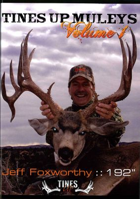 Hunting You might be a deer hunter if watching Jeff Foxworthy hunt is entertaining to you. Join him and his brother Jay as they chase trophy deer and show you tons of amazing footage in Utah, Colorado and Nevada. Witness some of the best adrenaline-pumping preseason and winter bucks ever seen. 107 minutes. DVD. - $12.99