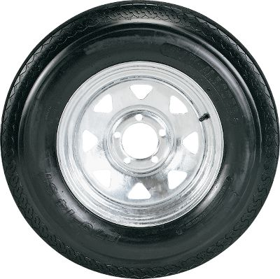 Motorsports If your trailer tires have reached the end of their road, make sure you replace them with these reliable and affordable tires from Tow Master. White Mag or Galvanized Mag wheel tires are available in a wide range of sizes. Their durable, weather-resistant, long-wearing, bias-ply construction meets D.O.T. specifications. Available: White Mag, Galvanized Mag. Nebraska residents add $1.00 per tire for state tax. Color: White. Type: Tires/Mag Wheel. - $87.99