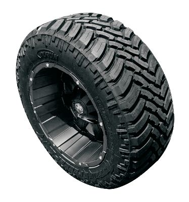 Motorsports Travel on or off road in any season. The aggressive, all-terrain tread pattern delivers the traction-filled handling you need to keep your adventures moving forward. A wavy sipe arrangement delivers a smooth ride, while improving traction in snow. Groove bottom siping bites into snow and dirt for nonstop traction. Open shoulders evacuate water for constant surface contact on wet roads. Free shipping. Free mount and balance when ordering four Mag Wheels (see product 524639) and four Toyo Open Country AT Tires or Durun Mud Terrain Tires (see product 524640). (Installation kit is NOT included with the free mount and balance).Customers that have factory installed TPM (electronic tire pressure monitoring) and are ordering tires and wheels together (mounted and balanced as a package) must order through our special order department at 1-800-753-3218 in order to get correct TPM fitment. TPM sensors are available through our special order department for an additional charge. Per each. - $219.99