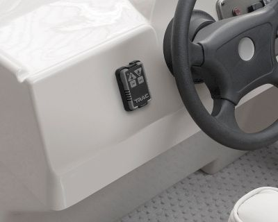 Motorsports Compact, water-resistant key fob provides no-hassle push-button anchor operation from anywhere in the boat. Clips into a mountable storage bracket. Works with all TRAC fresh- and saltwater anchor winches. For best performance, remote should be placed within 40-ft. of the winch. - $49.99