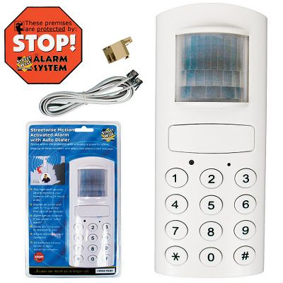Protect your home or office seven days a week, 24 hours a day. Powerful 125db, motion-activated alarm scares away intruders and alerts those inside of an attempted entry. Alarm feature can be disabled for silent alarm. Dimensions: 6.75L x 2.8W x 1.75H. Weight: 0.59 oz. - $59.99
