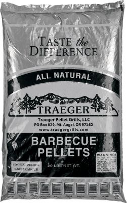 Camp and Hike Add Traeger Wood Pellets to your outdoor cooking and start infusing your backyard masterpieces with concentrated hardwood flavor. Only the best hardwoods are used to create these pellets and no chemical additives are used for an enhanced, natural flavor. Uniform pellets ignite fast and create little ash. Size: 20-lb. bag. Available: Hickory, Alder, Apple, Mesquite, Pecan, Cherry. Color: Natural. - $19.99