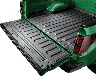 Motorsports Made from a custom-blended, durable, thermoplastic elastomer, our TrailGear 2 TechLiners are easily installed on your pickup bed and tailgate. Specifically made for a variety of truck models, makes and years, these liners hug and fill all curves and corners for complete surface protection for short, medium and long truck beds and their tailgates. They fasten directly to your truck to safeguard these high-use, high-abuse areas from the elements, heavy-object shock, tool damage and everyday wear and tear. They can even be placed under rigid bed liners to prevent paint damage. Easy to remove and clean. Type: Bed Liners. - $59.99