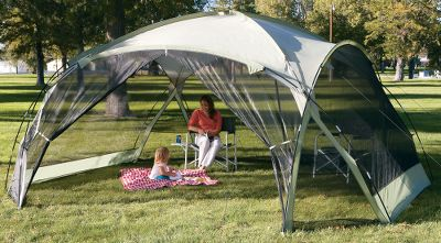 C& and Hike This gazebo is the perfect getaway from the sun rain and bugs & Trekker Family Gazebo - $99.88 - Thrill On