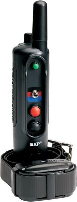 Entertainment Six levels of momentary and continuous stimulation with separate buttons for each and a tone-only mode. Redesigned with a compact fixed antenna. Controls up to three dogs with the purchase of additional receiver collars (one included). Color-coded toggle switch quickly switches from one collar to another. One-mile range. Waterproof, rechargeable transmitter uses replaceable NiMH batteries. Waterproof receiver has interchangeable contact points (long and short) an on/off button, status LED and uses replaceable and rechargeable NiMH batteries. Made in USA. Model: Field 90 G3 EXP. Maximum Range: 1 Mile. Carry Case: Yes. Type: Electronic Collars. Transmitter Battery: NiMH. Stimulation Type: C/M/T. Stimulation Levels: 6 Continuous6 Momentary. Collar Battery: NiMH. Tone: Yes. - $359.99