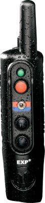 Hunting The Pro 200 G3 EXP has 18 levels of momentary stimulation with three intensity settings and has been redesigned with a more compact fixed antenna. Separate button for six levels of continuous stimulation and a tone-only option. Expandable to control up to three dogs with the purchase of additional EXP Receiver Collars (one included). Color-coded toggle switch for alternating between collars. One-mile range. Made in USA. Maximum Range: 1 Mile. Carry Case: Yes. Type: Electronic Collars. Transmitter Battery: NiMH. Stimulation Type: C/M. Stimulation Levels: 6 Continuous18 Momentary. Collar Battery: NiMH. Type: Electronic Collars. Tone: -. - $447.99