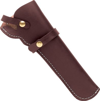 Guns and Military Triple K Leather Holster protects revolvers and keeps them easily accessible. A sturdy strap retains your firearm. Fits full size 1851 and 1860 Colt style revolvers with up to 8 barrels. Available: Right Hand, Left Hand. Color: Dark brown. Size: RH. Color: Dark brown. Type: Holsters. - $27.99