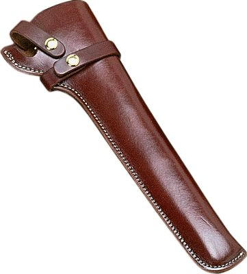 Guns and Military This holster combines top-grain leather and tear-resistant stitching. Color: Walnut. Available: Right hand. Color: Walnut. - $39.99