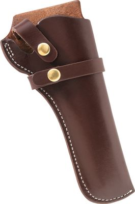 Guns and Military This holster combines top-grain leather and a tear-resistant stitching.Color: Walnut.Available: Right hand. Type: Holsters. - $19.88