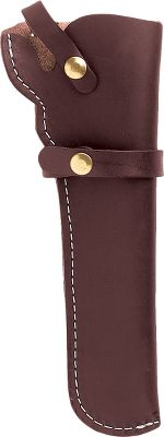 Guns and Military Leather holster protects revolvers and keeps them accessible. A sturdy strap retains your firearm. For 1851 and 1860 Colt style revolvers with 5-1/2 barrels. Available: Right Hand, Left Hand. Color: Dark brown. Size: RH. Color: Dark brown. Type: Holsters. - $27.99