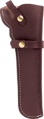 Leather holster protects revolvers and keeps them accessible. A sturdy strap retains your firearm. For 1858 Remington style revolvers with 5-1/2 barrels. Available: Right Hand, Left Hand. Color: Dark brown. Size: RH. Color: Dark brown. Type: Holsters. - $27.99