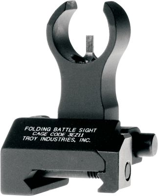 Conforms to standard front-sight height when used with Picatinny-rail gas blocks lower than the receiver. Folds out of the way with the push of a button when not needed. Built-in swivel attachment on both sides. Compatible with a standard rear sight. Made in USA. Type: Sights. - $114.88