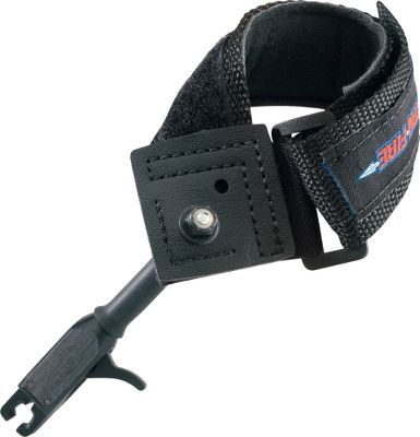 Hunting These releases have strong, ultrawide, no-gap jaws for quicker loading, as well as an adjustable trigger. The jaws and trigger are heat-treated and Teflon-coated for dependability. The comfortable nylon Power Strap fits small hands, and it has a fast Velcro-closure system. Age Group: Kids. - $19.99