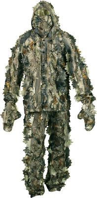 Hunting Crafted of a durable, highly packable, 3-D leafy-cut fabric that camouflages and conceals by breaking up the human outline. Lightweight mesh backing delivers increased comfort. Suit includes a hooded jacket, pants, mitts and face mask. Imported. Sizes: M-2XL. Camo pattern: True Timber XD3. Type: Suits. Size: X-Large. Camo Pattern: TIMBER XD3. Size Xl. Color Timber Xd3. - $39.99
