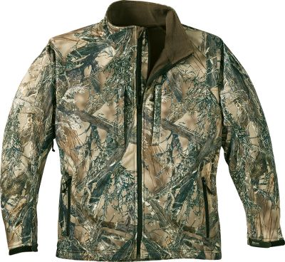 Hunting True Timber combines technical designs and patterns that blend perfectly with a wide range of conditions you'll encounter while hunting the West. This ground-breaking new pattern was designed using high-definition digital images to create realistic, cutting-edge patterns. 100% windproof and extremely water-resistant with a bonded antimicrobial fleece lining. Imported. Sizes: M-2XL. Camo pattern: True Timber MC2. - $139.99