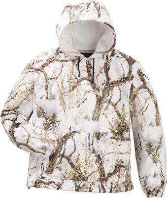 Hunting Put the exceptional warmth and whisper silence of fleece to work for you on your next hunt. This Mens hoodie is perfect as an outer layer on brisk days or as an extra layer during frigid hunts. Imported. Sizes: M-2XL. Camo patterns: True Timber MC2 , True Timber MC2 Snow. Size: MEDIUM. Color: Timber MC2. Gender: Male. Age Group: Adult. Pattern: Camo. Material: Fleece. Type: Hoodies. - $17.88