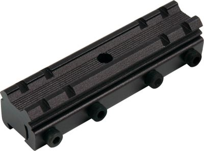 Hunting Converts 3/8 mounting bases into Weaver-style mounts. CNC-machined aircraft-quality construction. Color: Red. Type: Scope Mounts. - $24.99