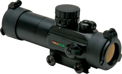 Hunting The illuminated ring represents a 24 circle at 30 yards to help you center the shotguns pattern on a big tom. For unmatched versatility, the specially designed turkey reticle can be illuminated in green or red at various brightness settings. The detachable sunshade eliminates glare from the front lens. See-through, flip-up lens caps give you optical quality in any weather. Integrated Weaver-style mounts. Includes a 3-volt CR-2032 battery. Color: Black. Color: Black. Type: Red Dot Sights. - $79.99