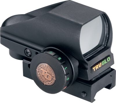 Hunting With four reticle views and two colors to change between, this versatile sight gives you the option to choose from eight sight pictures. Its click-adjustable for windage and elevation. A rheostat controls reticle brightness. Unlimited eye relief and a wide field of view team to get you on target fast. Integrated Weaver-style mounting system. 3V-CR-2032 battery included. Limited lifetime warranty. - $99.99