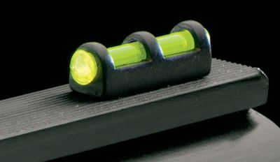 "Housed in metal for increased protection and lasting durability, the glow of this .078""-diameter fiber-optic sight at the end of your barrel will help you get on target quickly. One size fits most.Colors: Green, Red. Type: Sight. Green. - $7.88"
