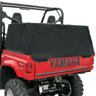 Motorsports A leader in cover technology, Truxedo offers the first bi-folding UTV cover. The durable, heavy-duty cover is made from a leather-grain, vinyl-coated material and has a full two-year warranty. The top's tough, sturdy construction and aluminum frame provide complete bed protection in all kinds of weather. The added space allows you to transport taller items in the bed and gives you complete access without removing the entire cover. Installation is easy and the top folds away in seconds to allow full use of the bed area. Made in the USA.Available: Yamaha 04-09 Rhino 660Polaris 00-08 RangerKawasaki TeryxHonda Big RedArctic Cat Prowler - $299.99