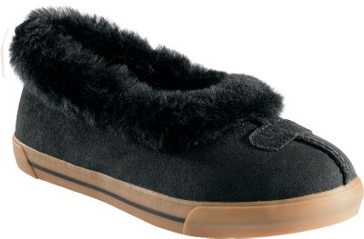 Entertainment Combines the luxurious comfort of slippers with the everyday durability of sneaker. These go-anywhere slippers are fully lined with Australian sheepskin and feature an ultradurable vulcanized construction. The super-soft sheepskin collar and sheepskin sock liners keep your feet warm, dry and cozy. Molded rubber bottoms. Imported.Womens whole sizes: 6-10 medium width.Color: Black. Shoe Size: 6. Color: Medium. Size: 6. Type: Slippers. Shoe Width: BLACK. Type: Slippers. Size: 6. Shoe Width: B. Color: Black. Size 6. Color Black. Width Medium. - $89.88
