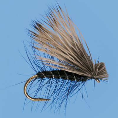 Flyfishing The Elk Hair Caddis has often been considered one of the most effective caddis patterns. They float well, and look extremely realistic to fool even the wariest trout. Per 3. Sizes: 12, 14, 16, 18. Colors: Tan, Olive, Black, Brown. Color: Olive. Type: Dry Flies. - $5.39