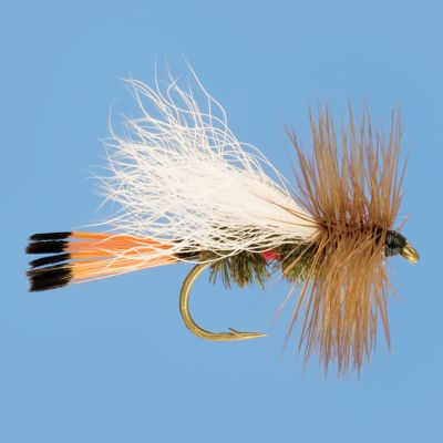 Flyfishing This pattern combines the time-proven attracting colors of peacock and red floss with a lay-down white wing. The Royal Trude series of flies is one of the oldest color combinations found on flies, and for good reason they work. Whether it is used as an attractor pattern, a general dry fly or to match a caddis hatch, this pattern is a must-have. Per 3. Sizes: 10, 12, 14, 16. Color: (658)Royal. Color: (658)Royal. - $5.99