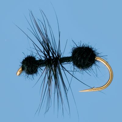 Flyfishing A standard terrestrial pattern that every fisherman should have in his box. A black ant will often draw strikes when nothing else will. Trout love these ants and their furry appearance. Per 3. Sizes: 12, 14, 16, 18. Color: (003)Black. Color: (003)Black. Type: Terrestrials. - $5.69