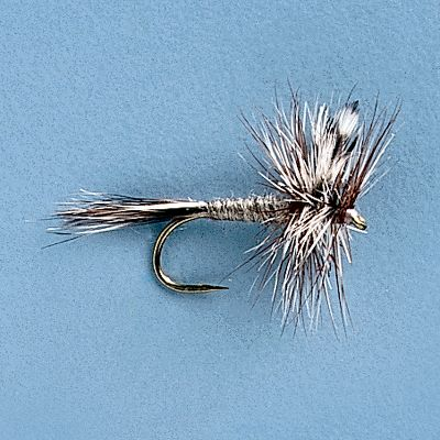 Flyfishing The Adams dry fly is a must in any angler's box. It works as a general purpose fly for many situations, an all-around dry fly when any hatch is going on and is the perfect fly for a Callibaetis hatch. Per 3. Sizes: 12, 14, 16, 18, 20. Type: Dry Flies. - $5.39