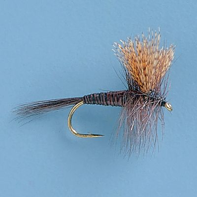 Flyfishing Created by Theodore Gordon, the father of American dry-fly fishing, this dark bodied mayfly pattern works well under a variety of circumstances. The segmented quill body represents a segmented mayfly abdomen perfectly. Per 3. Sizes: 12, 14, 16. Type: Dry Flies. - $5.39