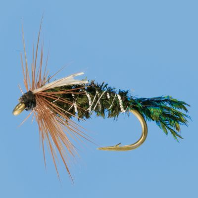 Flyfishing Versatile and deadly, the Zug Bug resembles a broad range of larger sub aquatic insects. The tails on this pattern are heavily fibrous, and it can be used for different species. Per 3. Sizes: 16, 14, 12, 10. - $4.49