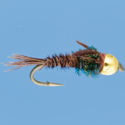 Flyfishing The Gold Bead Pheasant Tail mimics nearly all smaller mayflies. It is a useful all-purpose fly. Per 3. Sizes: 12, 14, 16. Color: Gold. Type: Wet Flies. - $5.39