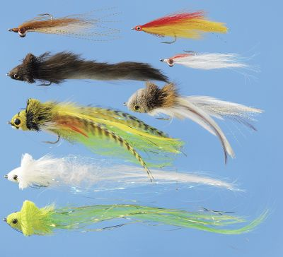 Flyfishing Our Pike Assortment offers you flies that are proven to catch big pike. Also works great on some saltwater species, muskie and largemouth bass. Kit includes: Clouser Golden Shiner, Umpqua Swimming Baitfish,Umpqua Pike Fly, Deceiver (Red/Yellow), Clouser (Red/White), 2 Mega Divers (White/Chartreuse) and Rabbit Strip Diver. Color: Red. Gender: Male. Age Group: Adult. Type: Fly Assortments. - $19.99