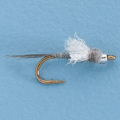 Flyfishing This fly designed by Pat Dorsey is a variation of the popular and effective RS2. With its glass bead head, it presents a slightly different look. Works great on hard-fished waters where trout have seen it all. Per 3. Sizes: 18, 20, 22, 24. Type: Wet Flies. - $5.49