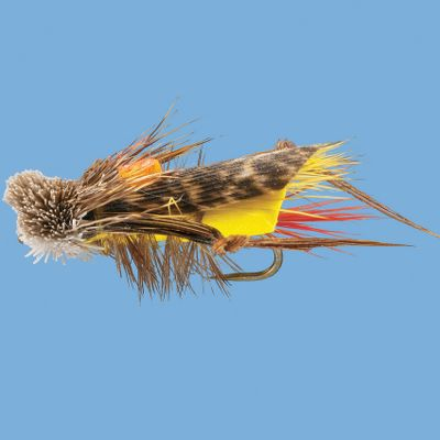 Flyfishing The spun hair head and foam body provide excellent flotation and a realistic profile. Per each. Sizes: 6, 8, 10. Type: Terrestrials. - $3.50