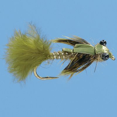 Flyfishing A great imitation for damselfly nymphs in stillwater. Per 2. Size: 10. Color: Olive. Color: Olive. - $4.49