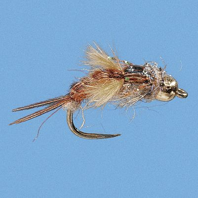 Flyfishing Fishing these flies along the bottom can provide consistent action from mid-morning until the early stages of the hatch. Per 2. Sizes: 12, 14. Color: Brown. - $6.79