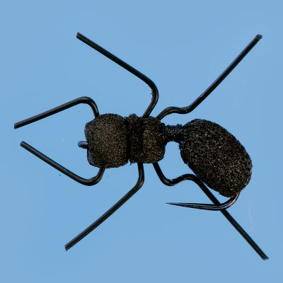 Flyfishing The wiry, realistic legs closely resemble those of an ant. Per 2. Sizes: 12, 14. Type: Terrestrials. - $4.99