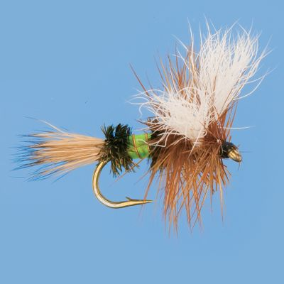 Flyfishing The classic wulff with a twist of lime. Per 2. Sizes: 12, 14, 16. Color: Lime. Type: Dry Flies. - $5.99