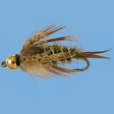 Flyfishing Buggy-looking nymph that does a great job of imitating a variety of aquatic insects and goads the biggest trout. Per 2. Sizes: 10, 12, 14. Type: Nymphs. - $4.69