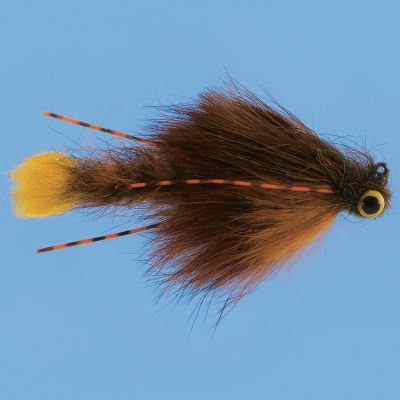 Flyfishing Incredibly versatile pattern for everything from largemouth and smallies to walleye and pike. The flexible body action mimics the darting movement of a spooked crayfish. Per each.Size: 1/0. Type: Crayfish. Size 1/0. - $3.88
