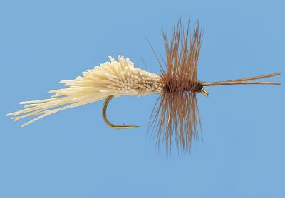 Flyfishing Excellent high-floating pattern imitating a variety of caddis or mayflies. Spun deer hair creates a realistic profile and buoyancy. Excels in rough water and instances where skirting the surface draws strikes. Per 3. Sizes: 10, 12, 14, 16, 18. Color: Tan. Color: Tan. Type: Dry Flies. - $5.19