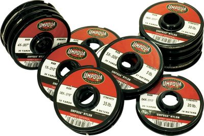 Flyfishing Complete money-saving kit contains 14 spools of Umpqua tippet material in sizes from .021-.004 plus instructions for tying leaders for nearly any situation by renowned fly-fisherman Dave Whitlock. A real money saver. - $44.88