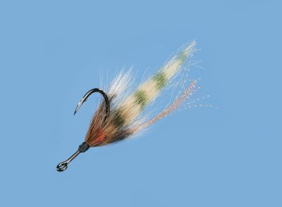 Flyfishing An eye-catching pattern for tarpon and other big-game saltwater species, this fly is sure to get you hooked into some monster fish. Per each. Sizes: Small (1/0), Large (3/0). Color: Orange. Type: Saltwater Flies. - $5.59